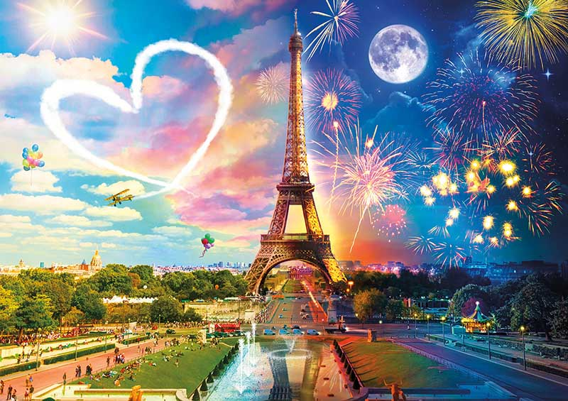 Paris Love Paris Jigsaw Puzzle