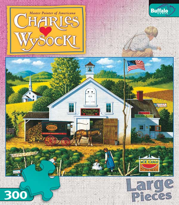 Catchin' Bugs - Scratch and Dent Farm Jigsaw Puzzle