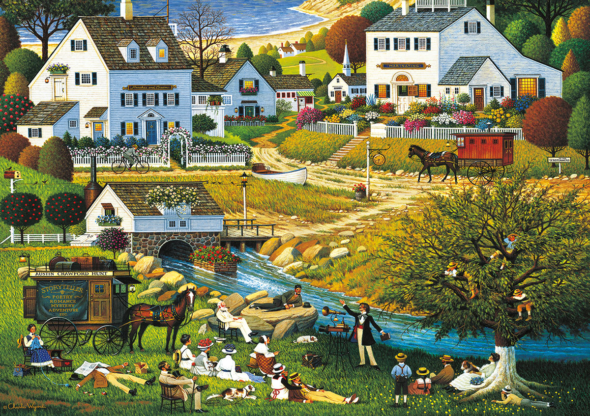 Hound of the Baskervilles Americana & Folk Art Jigsaw Puzzle