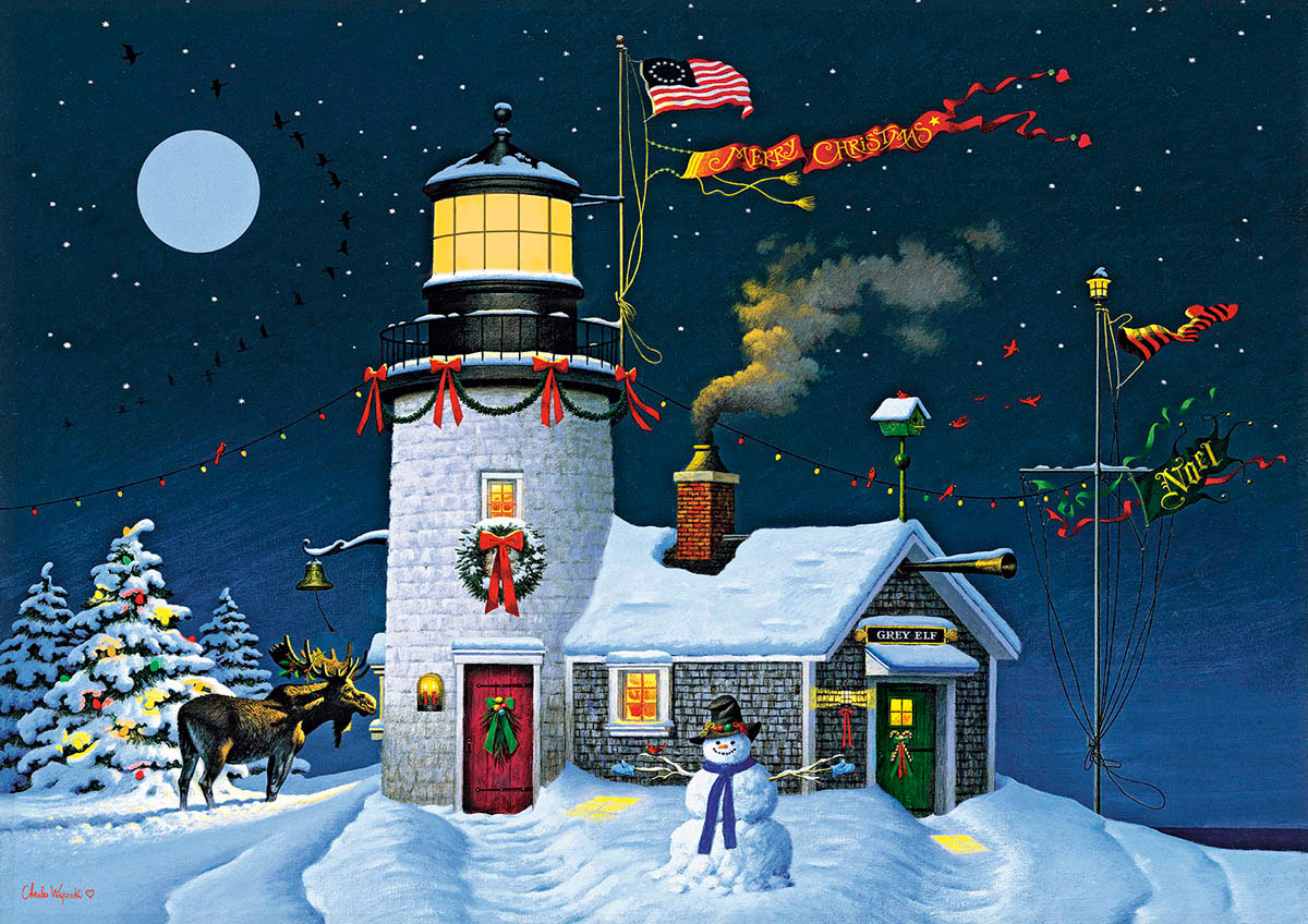 Take Out Window Lighthouses Jigsaw Puzzle
