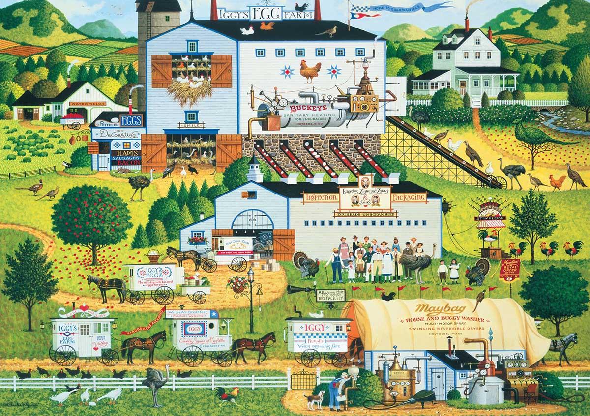 Sunny Side Up Farm Jigsaw Puzzle