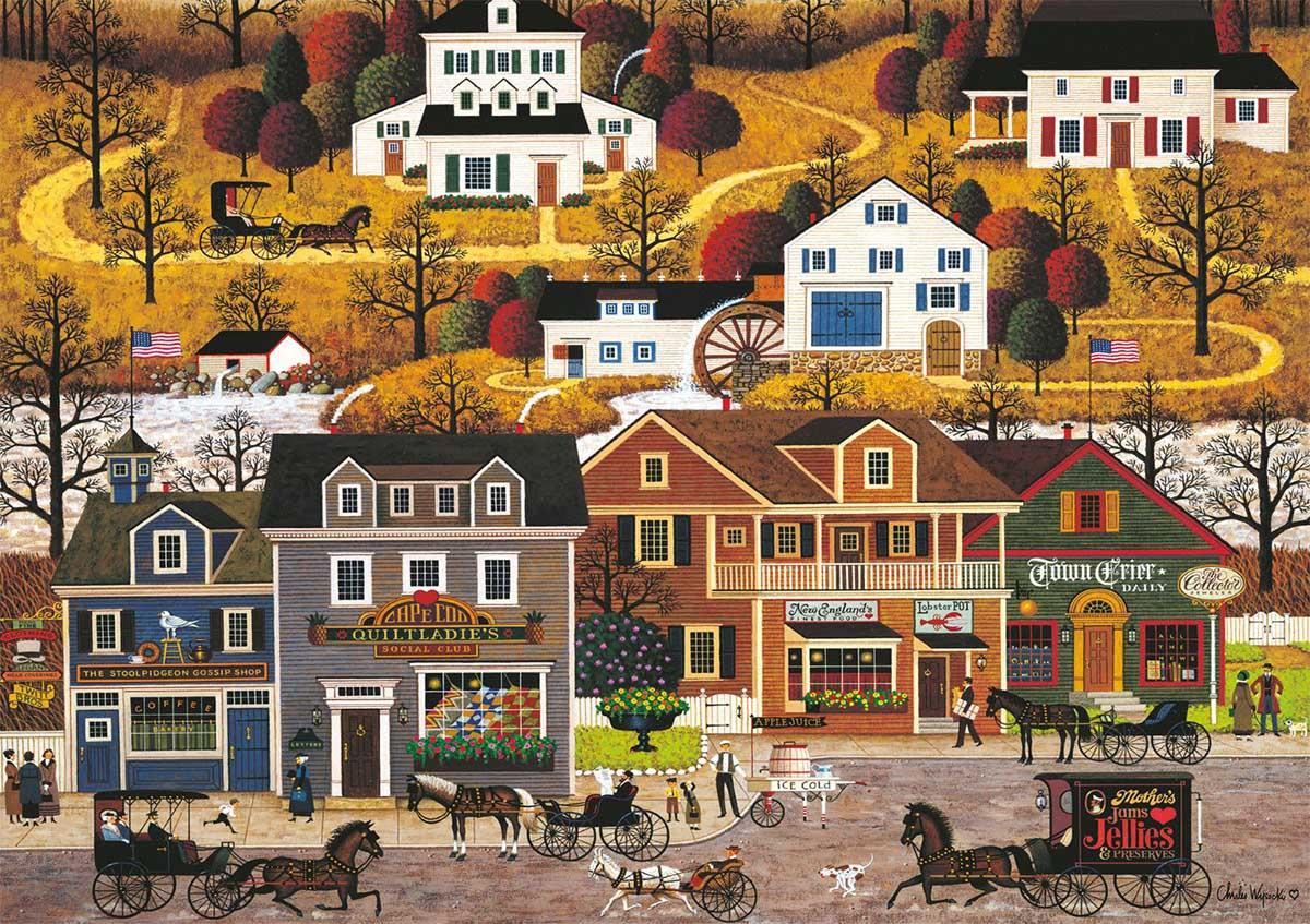 Hawkriver Hollow Landscape Jigsaw Puzzle