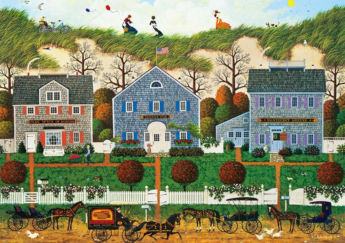 Nantucket Winds Americana & Folk Art Jigsaw Puzzle