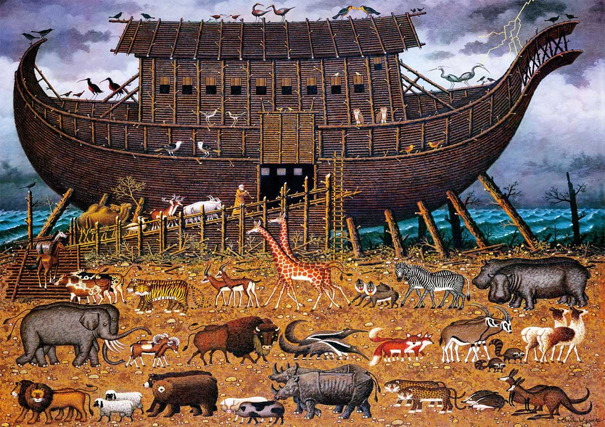 Noah and Friends Animals Jigsaw Puzzle