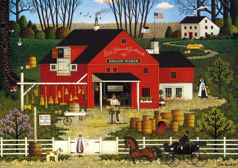 Mr. Swallowbark Farm Jigsaw Puzzle