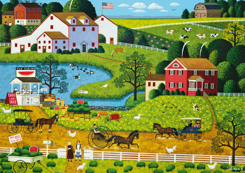 Jolly Hill Farms Jigsaw Puzzle