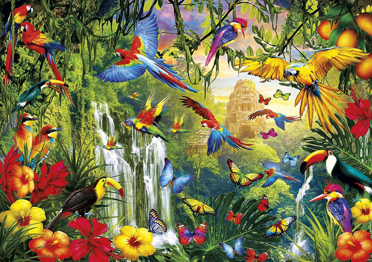 Wings Birds Jigsaw Puzzle