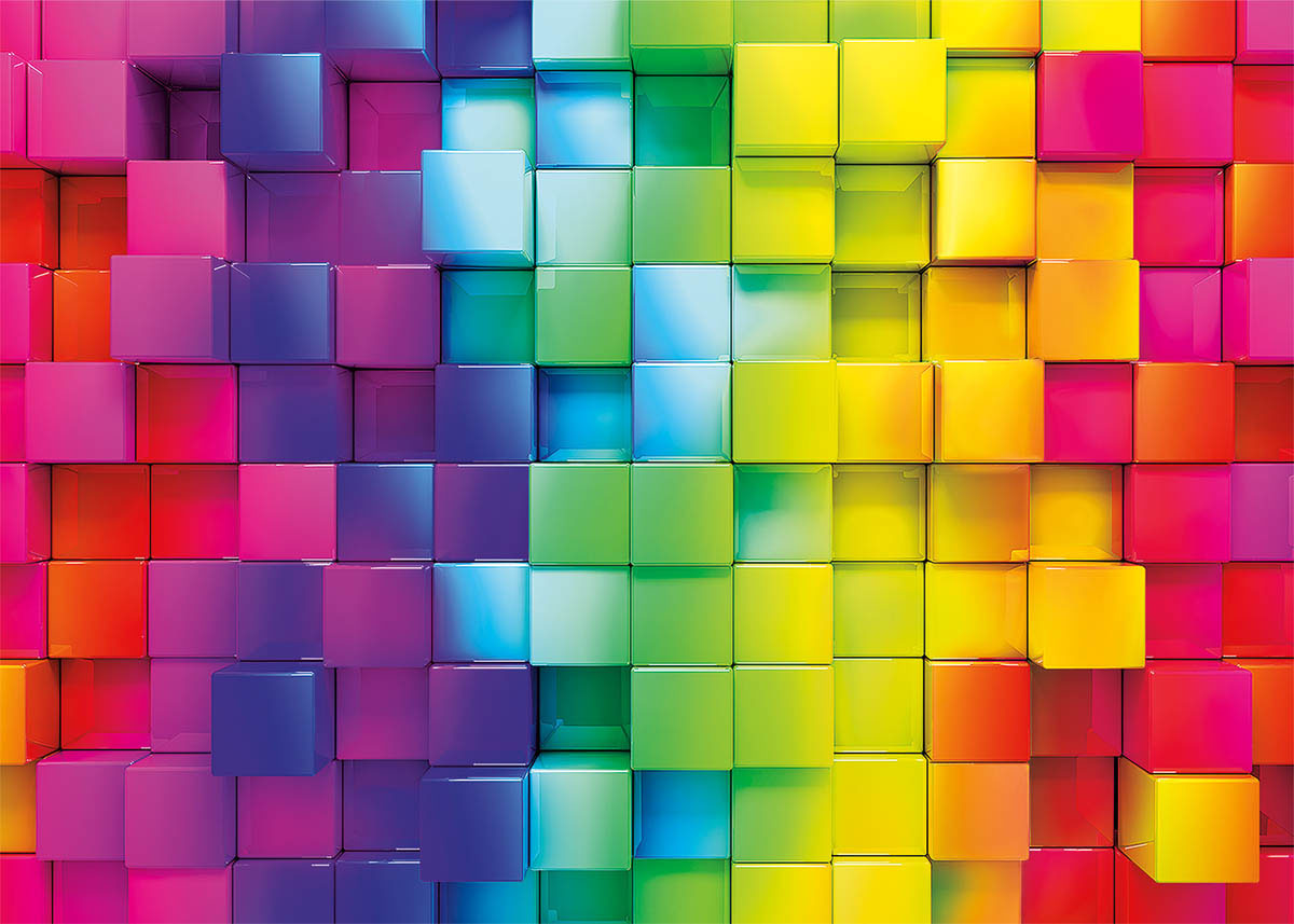Color Challenge Abstract Jigsaw Puzzle