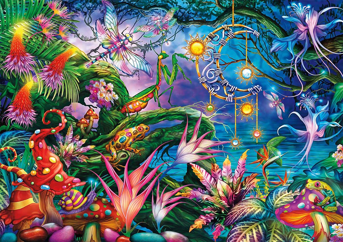 Fairy Forest Animals Jigsaw Puzzle