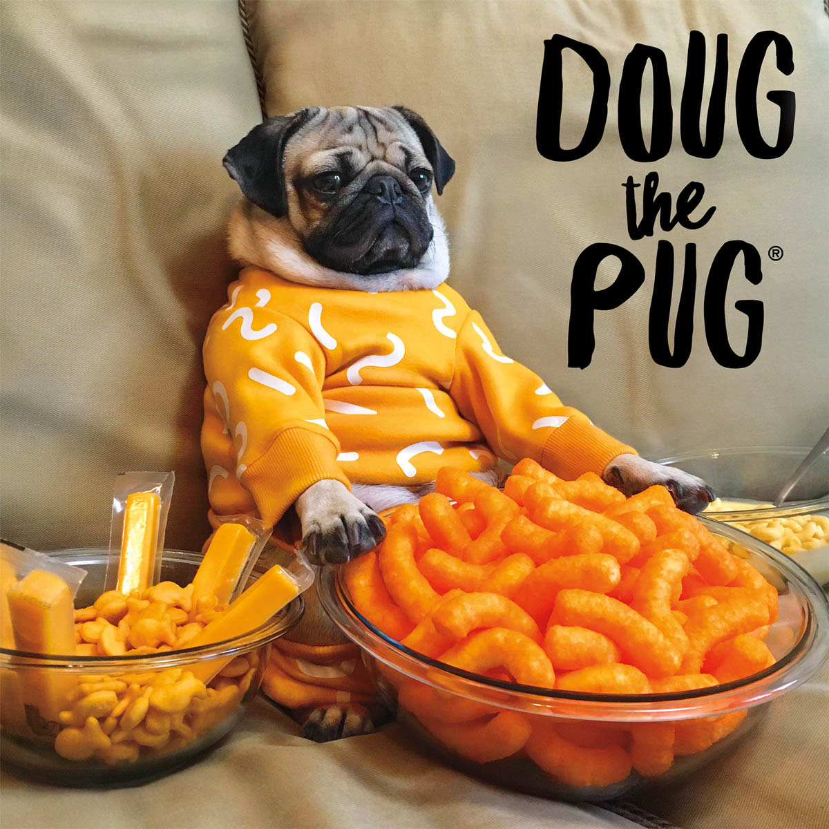 Cheesy Doug Food and Drink Jigsaw Puzzle