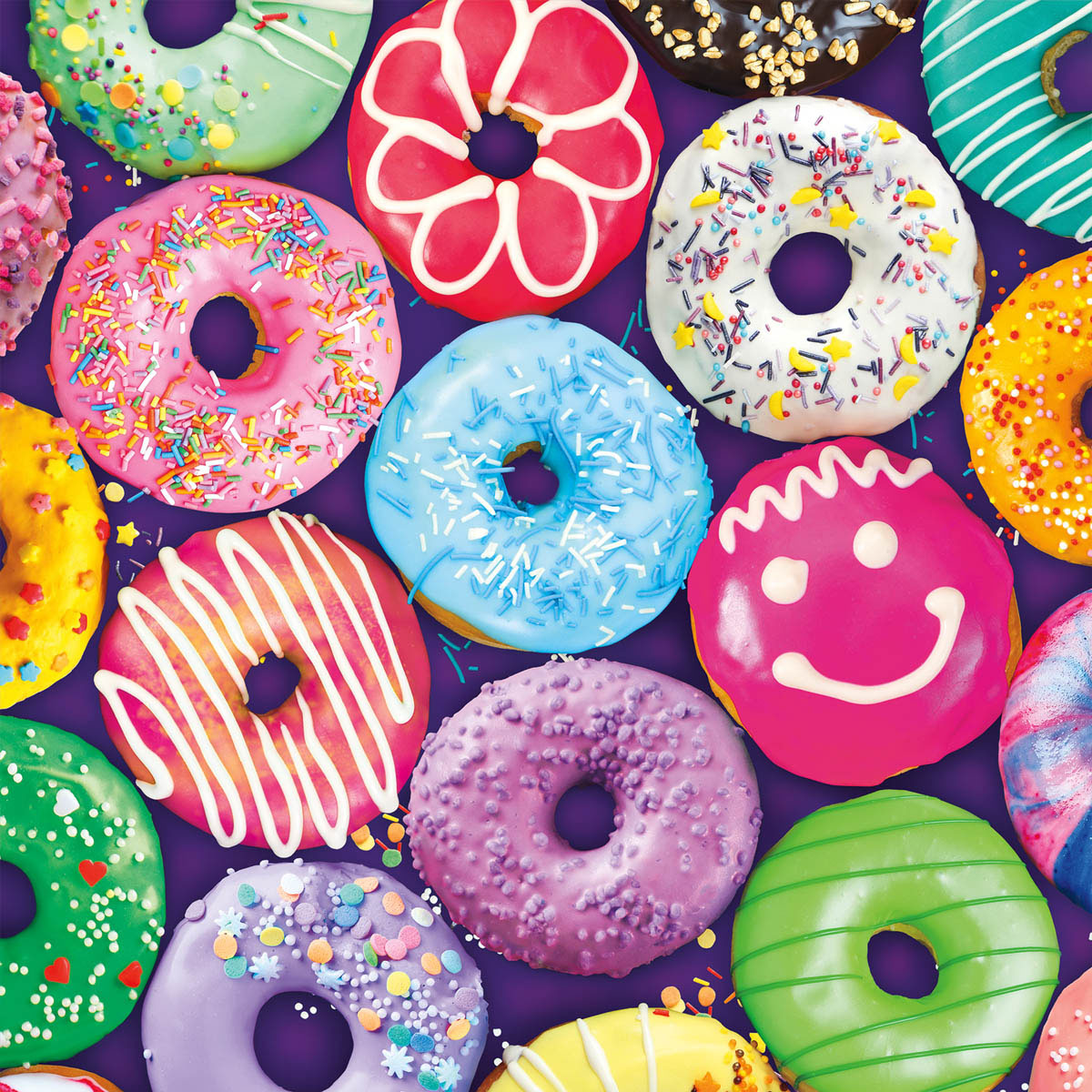 Delightful Donuts Food and Drink Jigsaw Puzzle