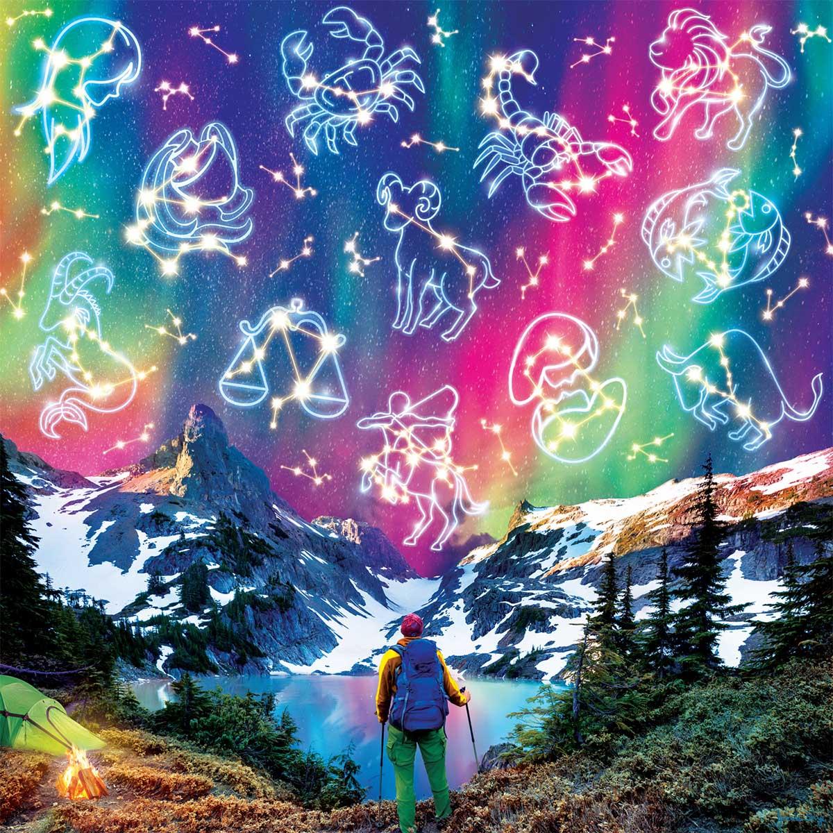 Zodiac Mountain Mountains Jigsaw Puzzle