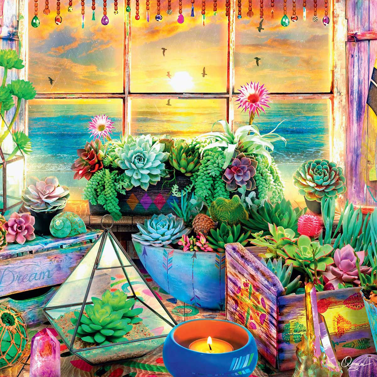 Good Vibes Garden Jigsaw Puzzle