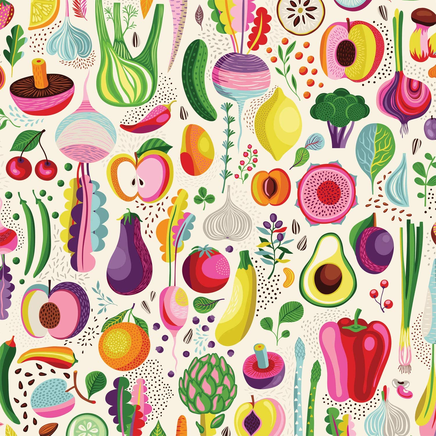 Fruits and Veggies Food and Drink Jigsaw Puzzle