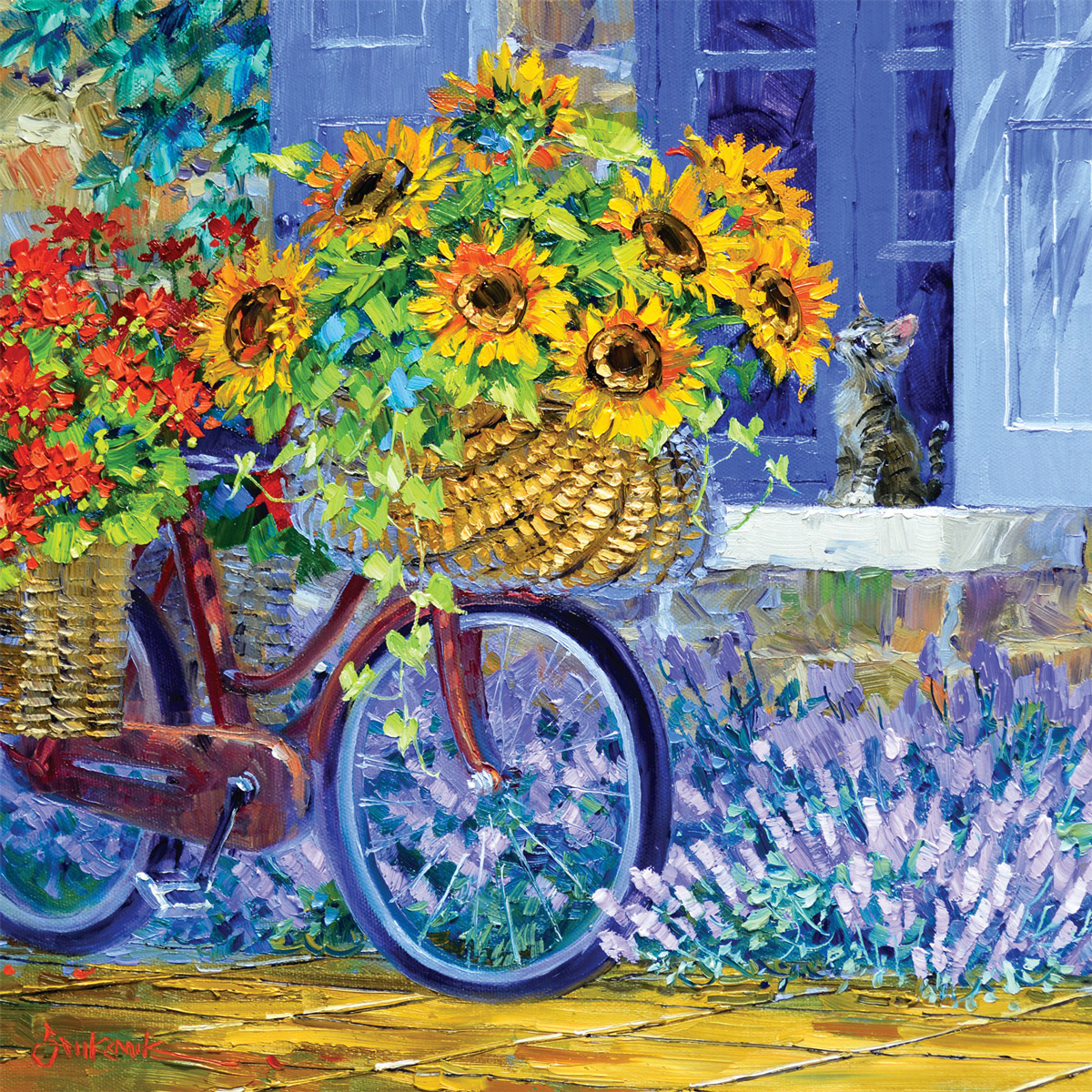Delivery of Sunshine Sunflower Jigsaw Puzzle