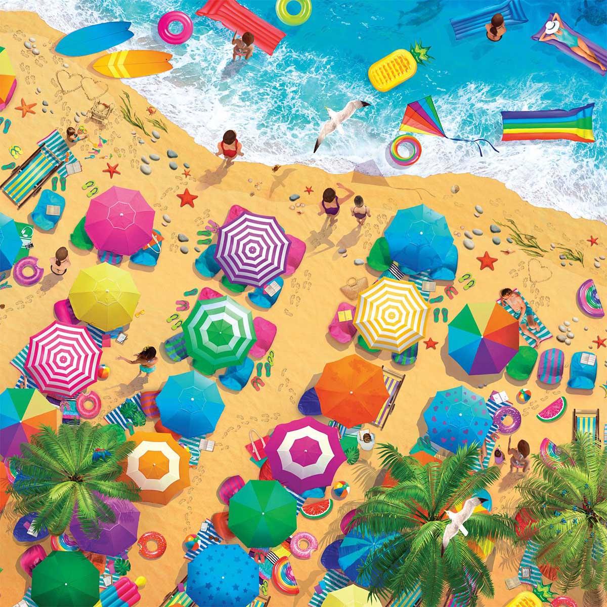 Fun in the Sun Beach Jigsaw Puzzle