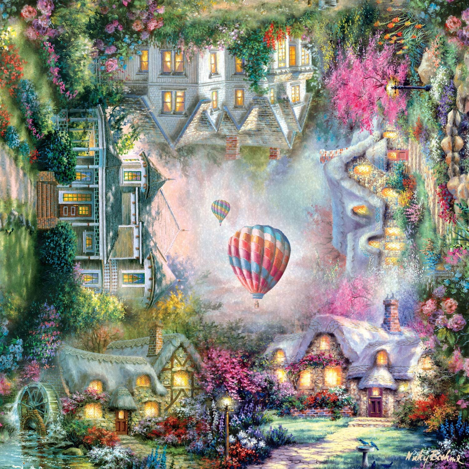 The Mysteries At Home - Scratch and Dent Garden Jigsaw Puzzle