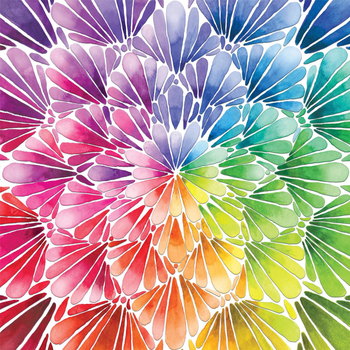 Square Petals Graphics / Illustration Jigsaw Puzzle