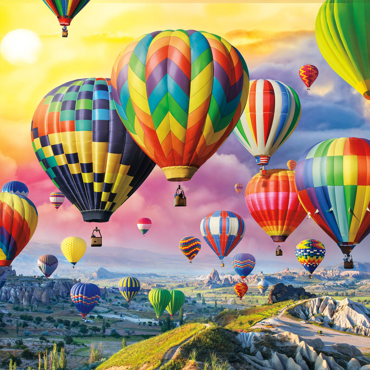 Up Up And Away Mountains Jigsaw Puzzle