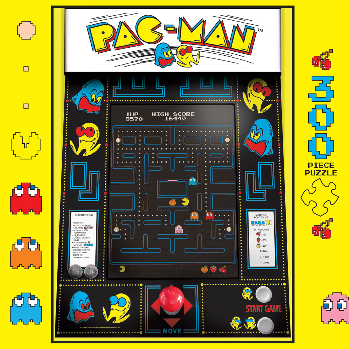 Pac-Man Movies / Books / TV Jigsaw Puzzle