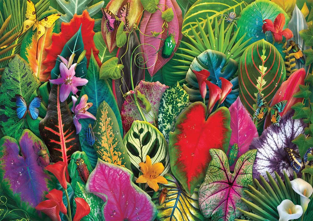 Brilliant Botanicals Flowers Jigsaw Puzzle