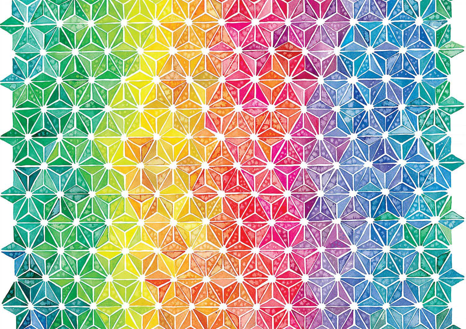 Geometric Abstract Jigsaw Puzzle