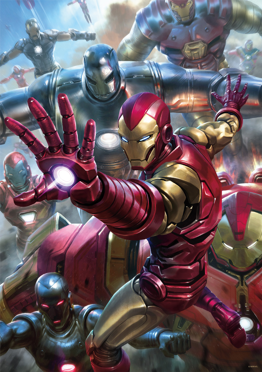 Iron Man House Party Protocol Movies / Books / TV Jigsaw Puzzle