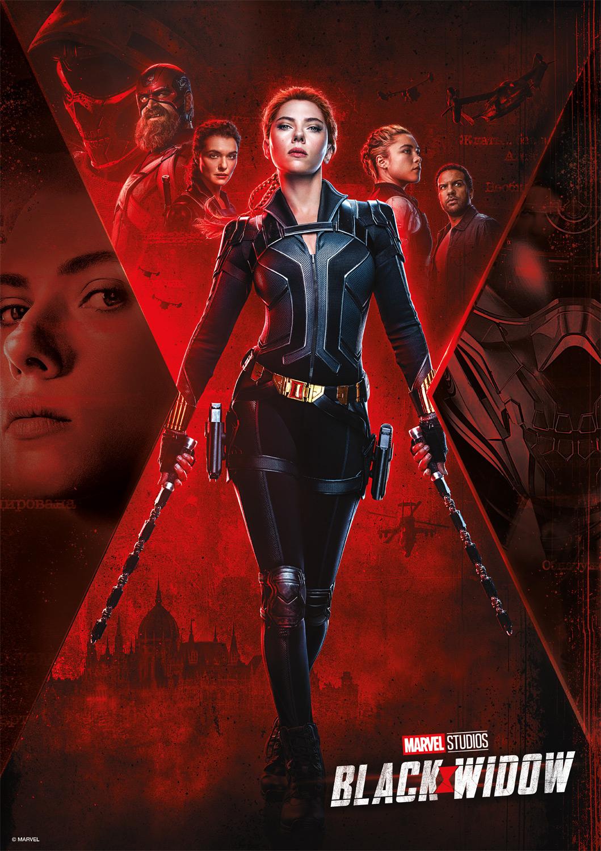 Black Widow Movies / Books / TV Jigsaw Puzzle