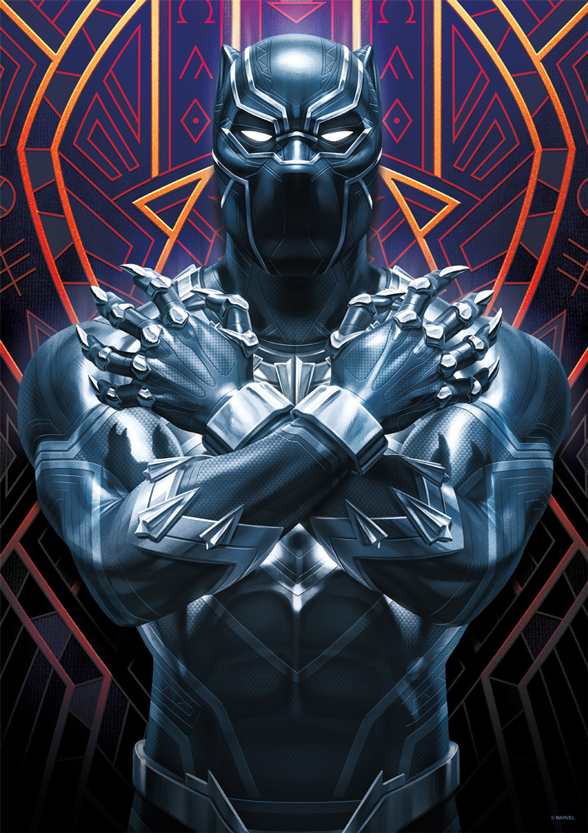 Black Panther Movies / Books / TV Jigsaw Puzzle