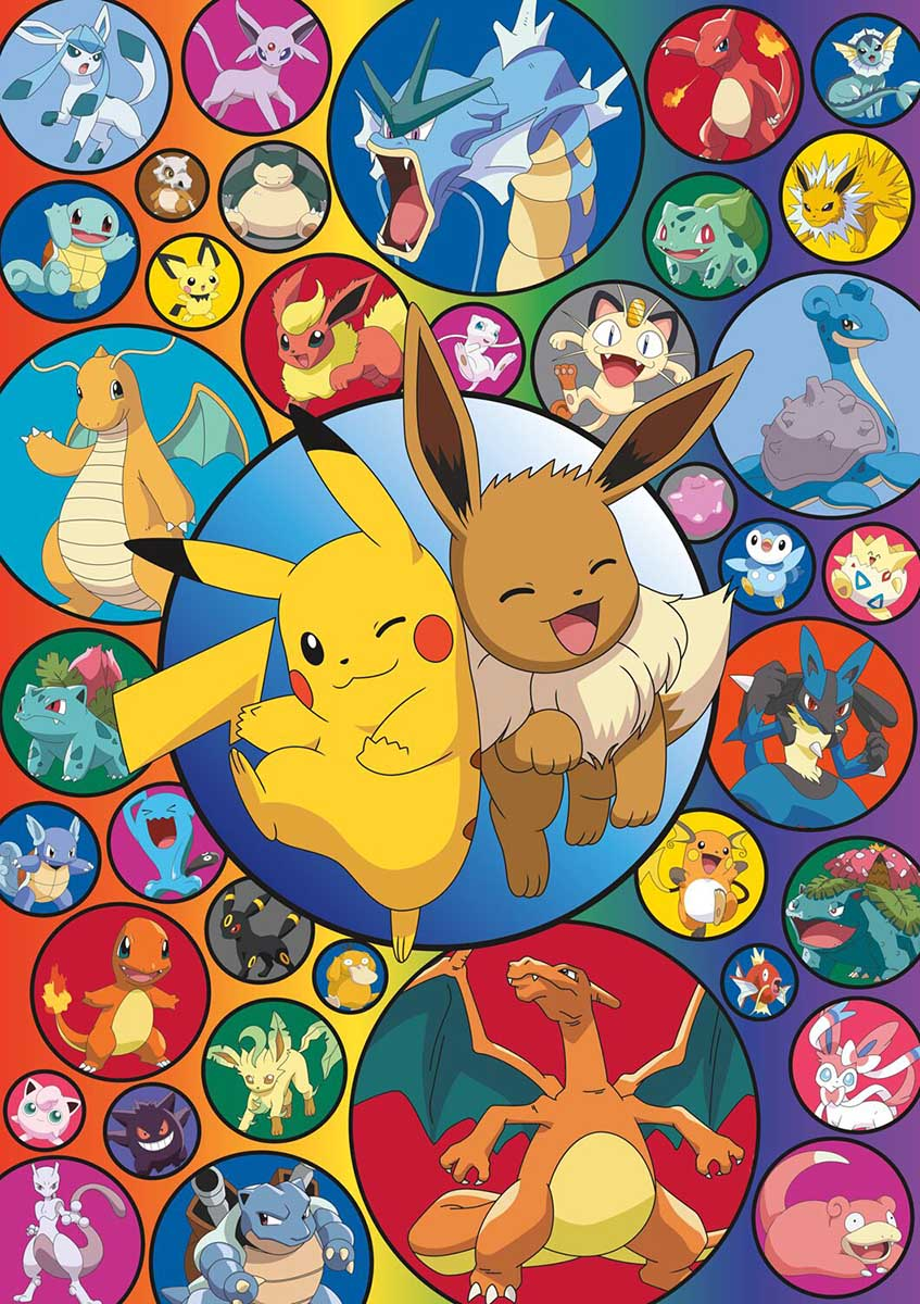 Pokemon - Pokemon Bubble Cartoons Jigsaw Puzzle