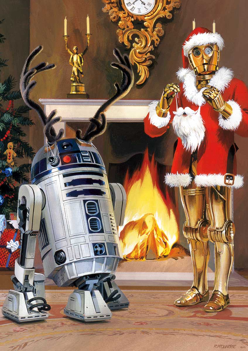 All I Want For Christmas Is R2 Christmas Jigsaw Puzzle
