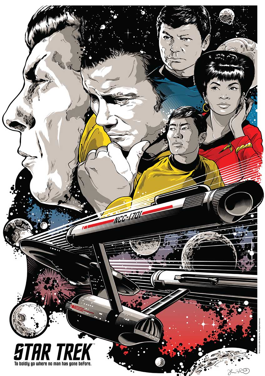 To Boldly Go Where No Man Has Gone Before Movies / Books / TV Jigsaw Puzzle