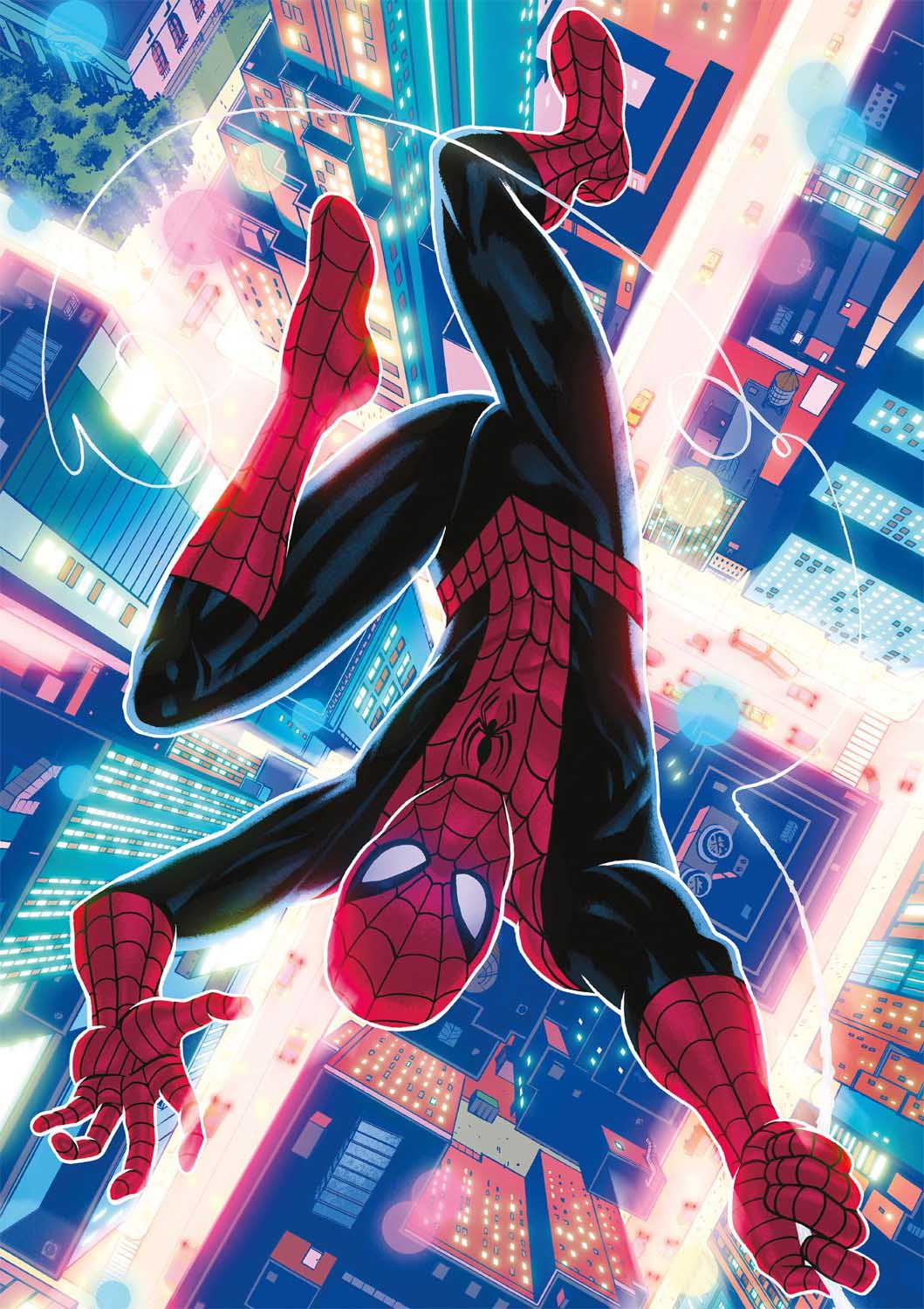 The Spectacular Spider-Man Super-heroes Jigsaw Puzzle