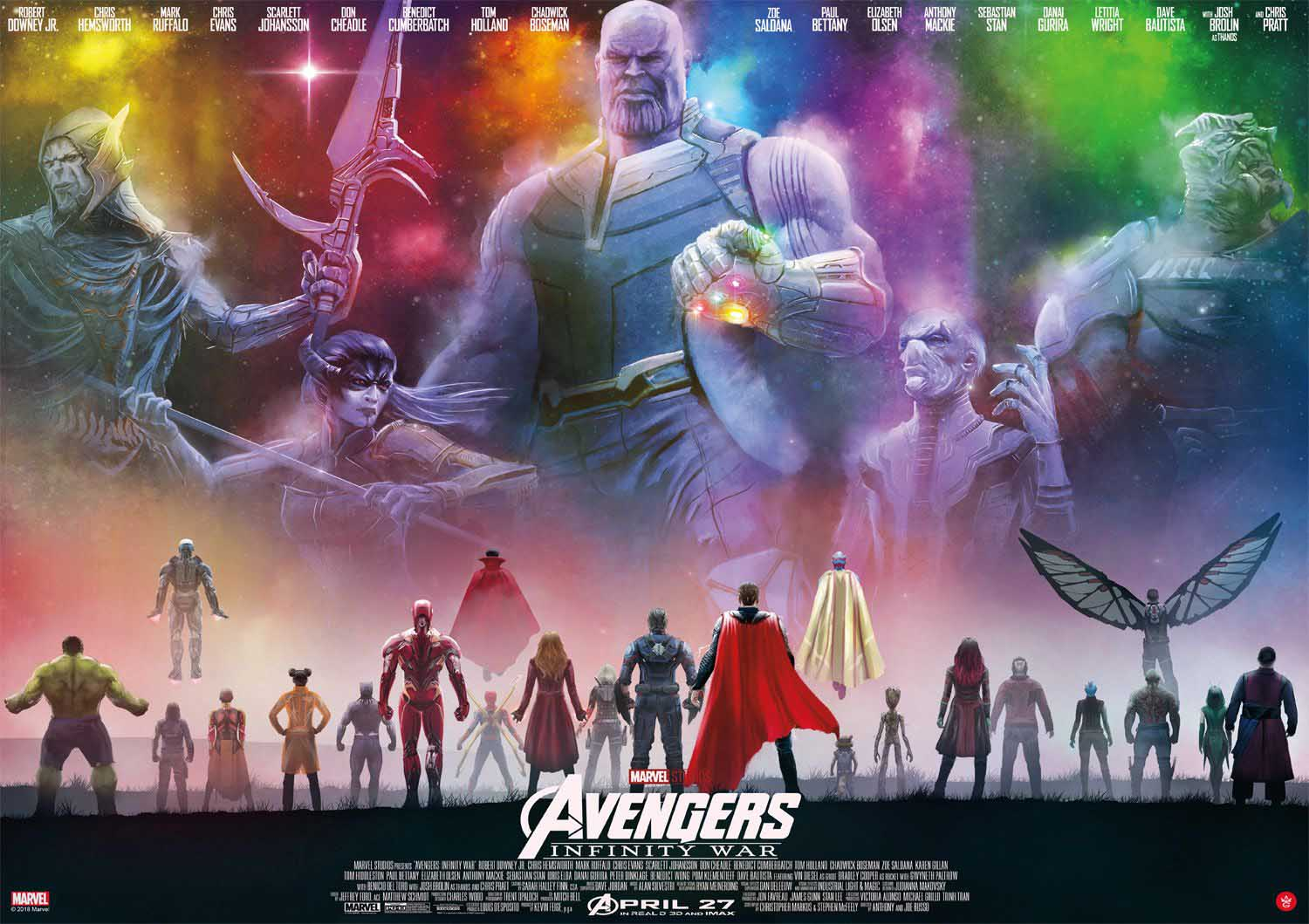 Avengers Infinity War - Scratch and Dent Movies / Books / TV Jigsaw Puzzle