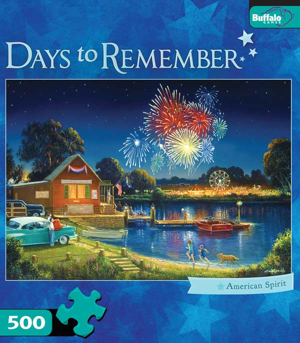 American Spirit Fourth of July Jigsaw Puzzle