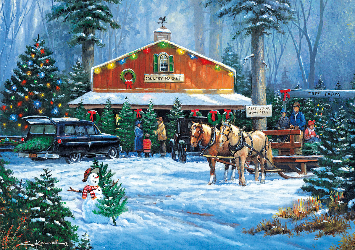 Holiday Tradition (Days to Remember) Christmas Jigsaw Puzzle