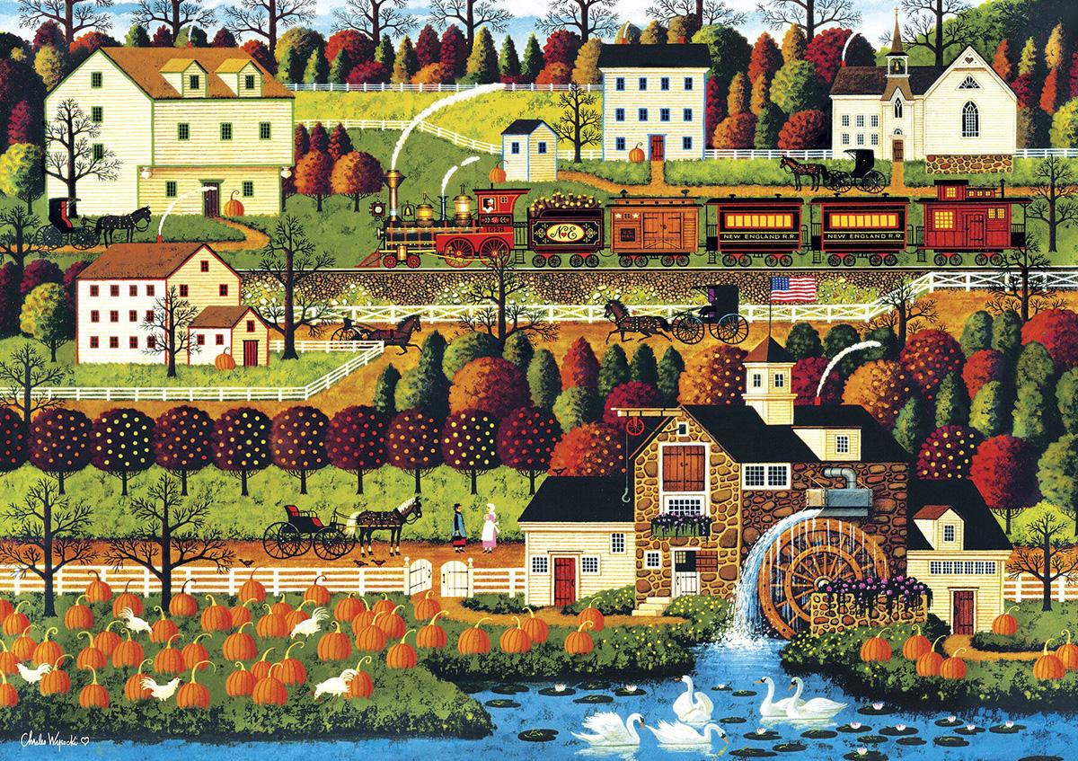 Honey Valley Americana & Folk Art Jigsaw Puzzle