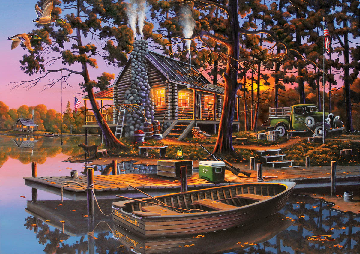 Eugene's Hunting & Fishing Wildlife Jigsaw Puzzle