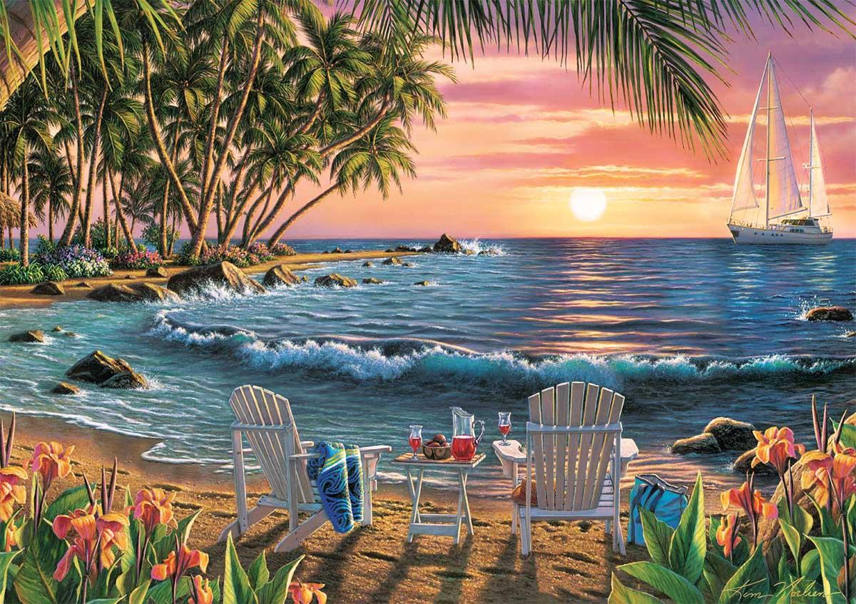 Summertime Beach Jigsaw Puzzle