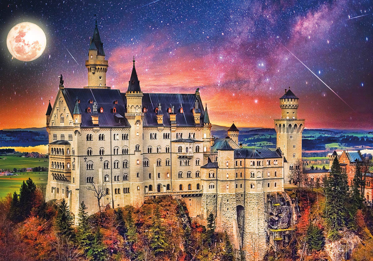 Once Upon A Time Castles Jigsaw Puzzle