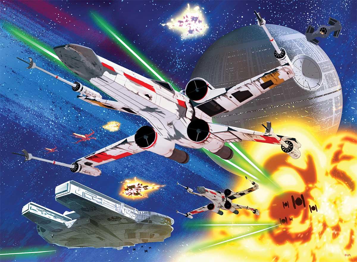 Star Wars - X-Wing Assault Star Wars Jigsaw Puzzle