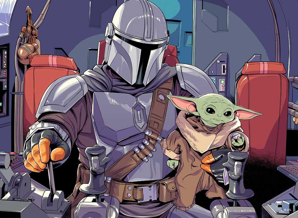 Star Wars - The Mandalorian - The Child Star Wars Jigsaw Puzzle