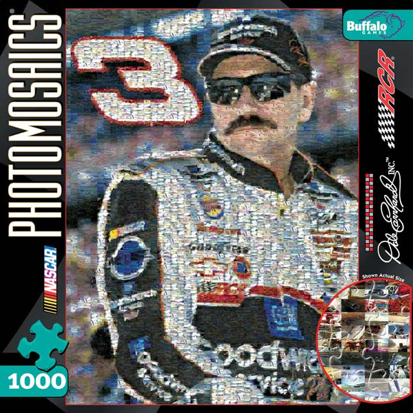 Dale Earnhardt Cars Jigsaw Puzzle