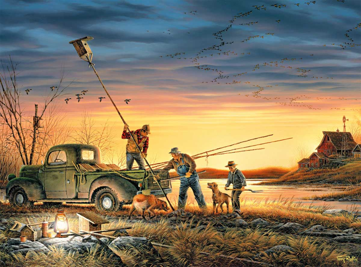 The Conservationists Birds Jigsaw Puzzle