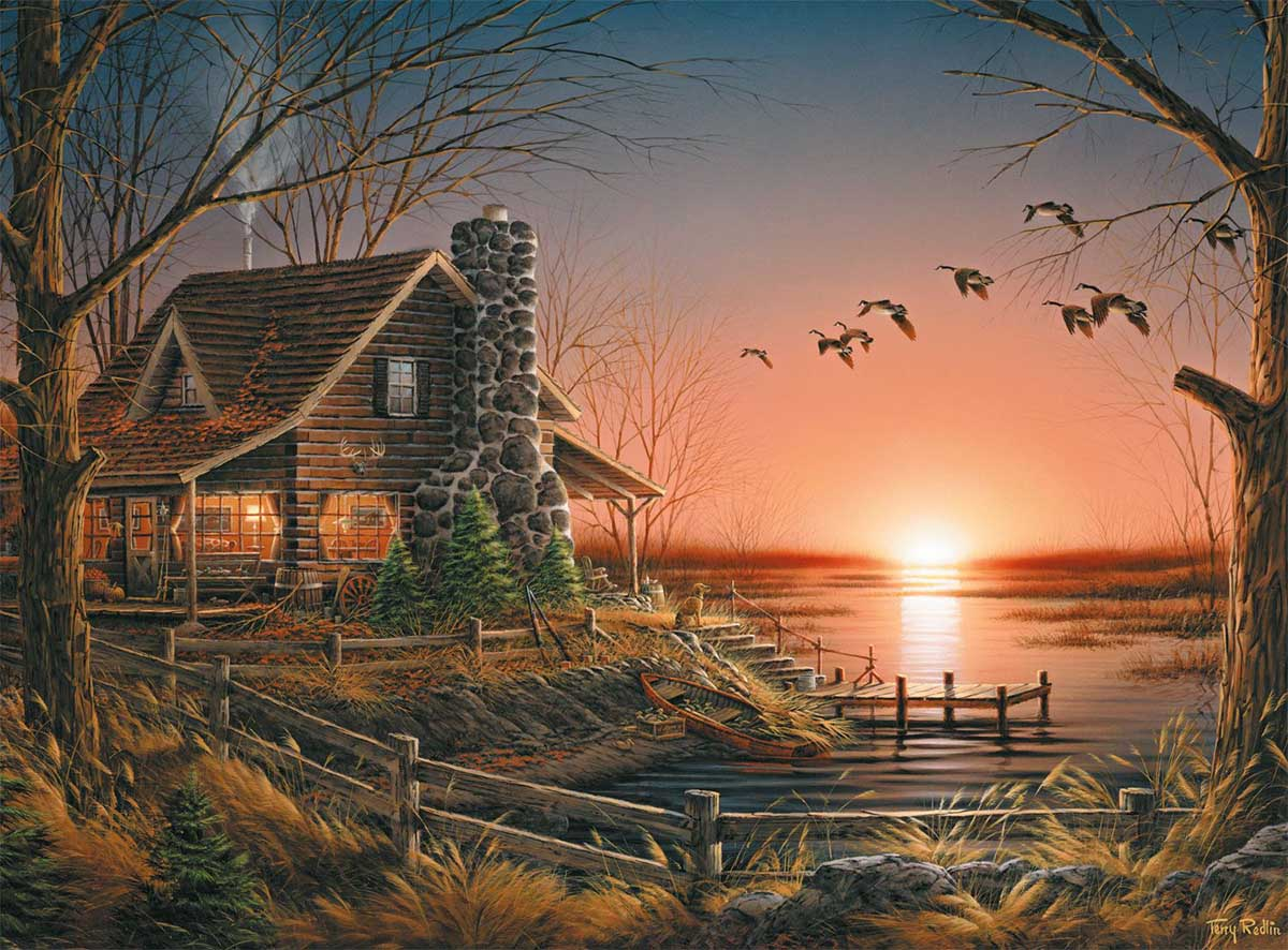 Comforts of Home Lakes / Rivers / Streams Jigsaw Puzzle