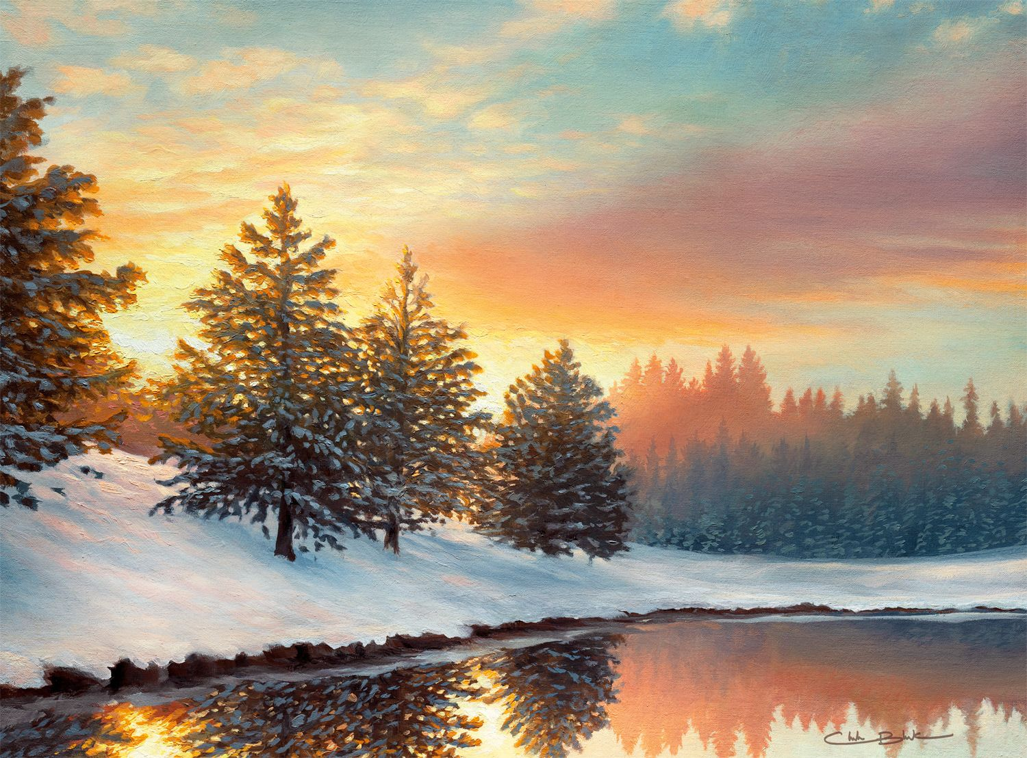 One Quiet Morning Lakes / Rivers / Streams Jigsaw Puzzle