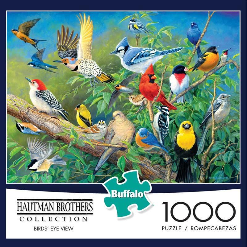 Bird's Eye View Birds Jigsaw Puzzle