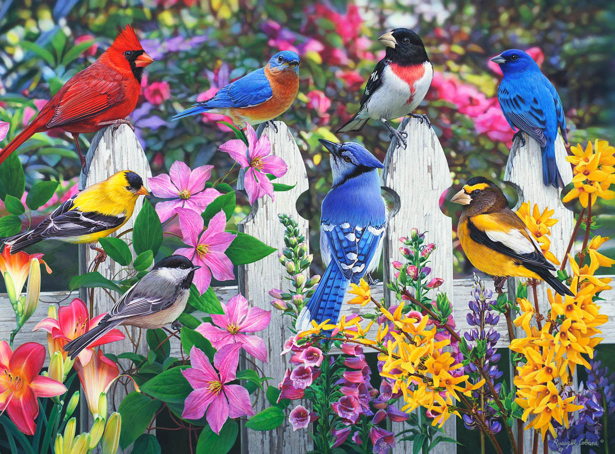 Gathering of Friends Animals Jigsaw Puzzle