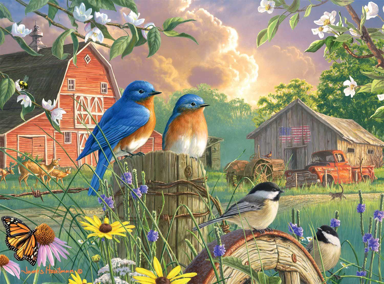 America's Heartland Countryside Jigsaw Puzzle