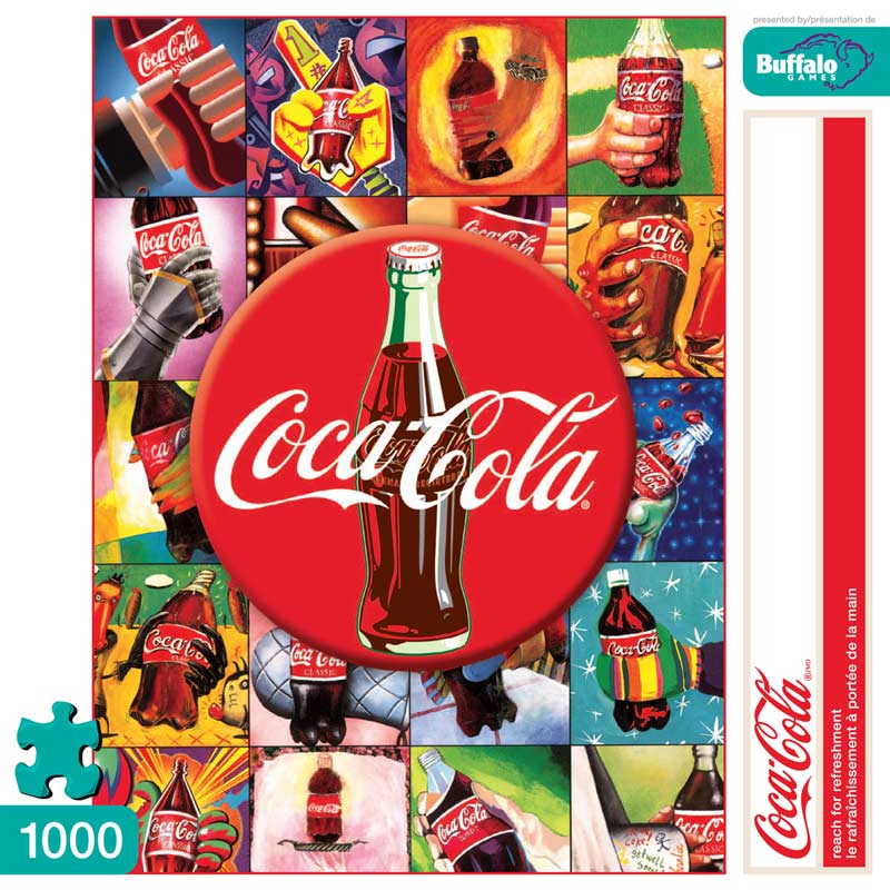Reach for Refreshment Coca Cola Jigsaw Puzzle
